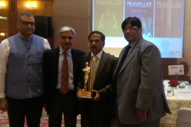 Mauritius bagged the Best All-Season International Destination for TODAY'S TRAVELLER AWARD 2014