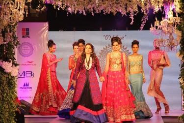 OM Luxe in association with Mauritius Tourism Promotion Authority Presents Charu Parashar Bridal Couture 2014/15