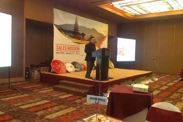 """""""INDONESIA SALES MISSION 2016"""" Hyderabad and New Delhi"""