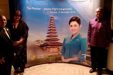 Garuda Indonesia Direct Flight Mumbai to Jakarta Launch Event