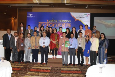 """Ministry of Tourism Republic of Indonesia in association with VITO – INDIA organized """"INDONESIA SALES MISSION 2017"""