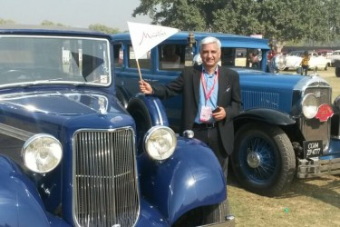 MTPA India participated at 21 Gun Salute International Vintage Car Rally & Concours Show 2017