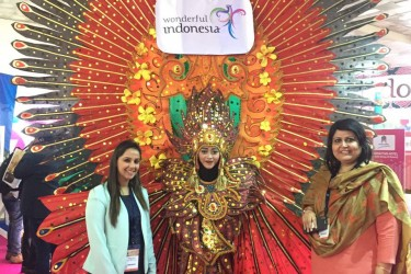 Ministry of Tourism Republic of Indonesia in association with VITO – India had exhibited at SATTE 2017, New Delhi