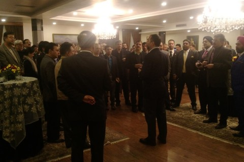 Cocktail Reception hosted by H.E. the Ambassador of Indonesia to India