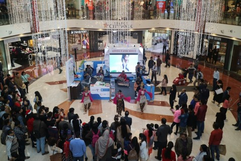 Ministry of Tourism, Indonesia conducted a Consumer Selling Program at Select CITYWALK Saket New Delhi