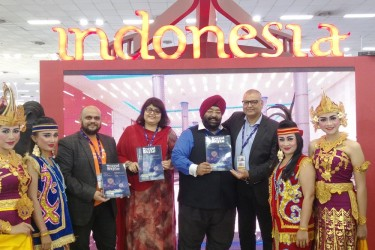 Ministry of Tourism Indonesia exhibited at SATTE 2018, New Delhi