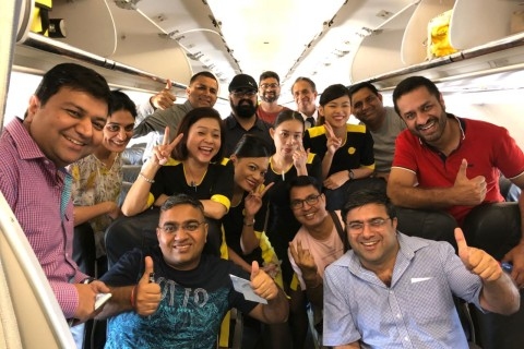 The Visit Indonesia Tourism Office (India) organizes a FAM Trip in association with Scoot Airlines