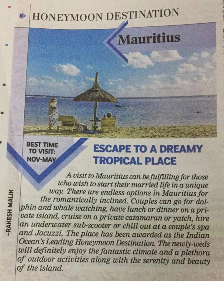 Escape to a dreamy tropical place